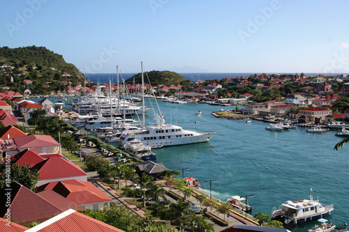 Fotografie, Obraz  Gustavia Harbor - Saint Barthelemy FWI