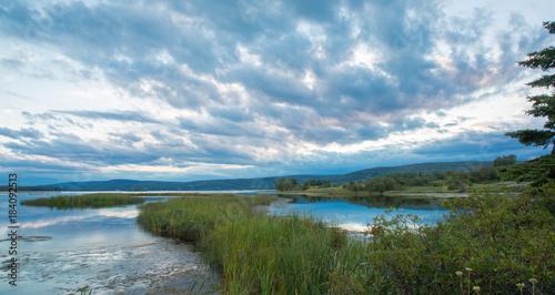 Vászonkép Breton Lake