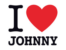 I LOVE JOHNNY