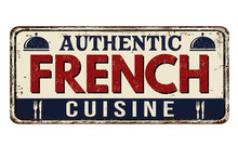 Authentic French Cuisine Vinta...