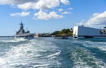 The USS Arizona Memorial And U...
