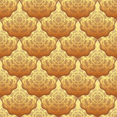 Fototapetaseamless background with vintage pattern