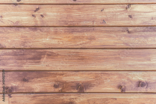 Papiers peints Bois texture of wooden wall made of planks in warm colors