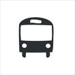 Bus icon. Vector Illustration