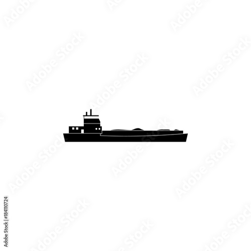 Papel de parede barge ship icon