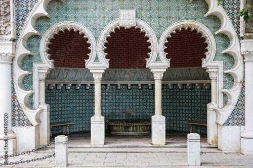 Elaborate Tile Alcove In Portugal Wallpaper Mural