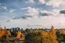Autumn View Of Residential Are...