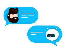 Cute Smiling Chat Bot Is Written