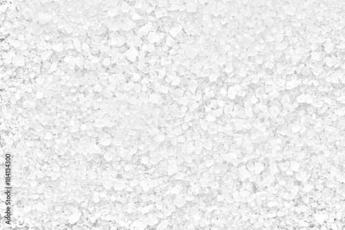salt white sea, full depth of field Canvas