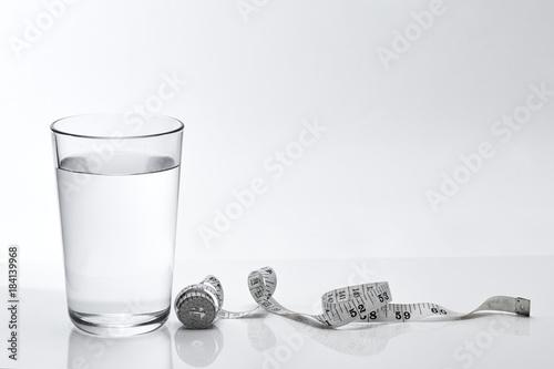 Fotografía  Pure water weight loss