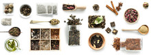 Various Kinds Of Tea, Spoons A...