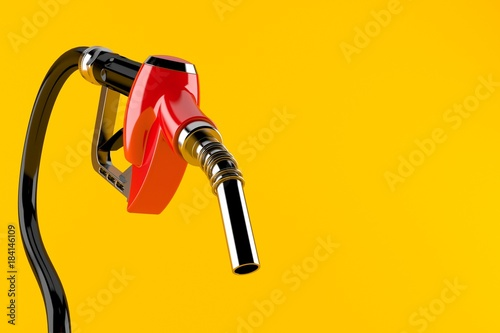 Gasoline nozzle Fototapeta
