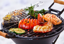 Gourmet Seafood Winter Barbecue