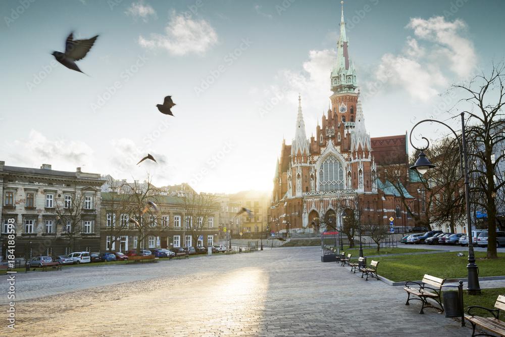 Fototapety, obrazy: Kościół św. józefa na Podgórzu w Krakowie