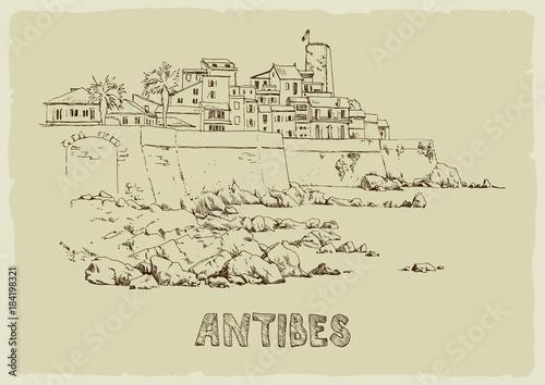 antibes Wallpaper Mural