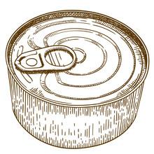 Engraving  Illustration Of Tin...
