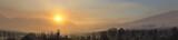 Fototapeta Sawanna - sunrise at cemoro lawang