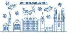 Switzerland, Zurich Winter Cit...