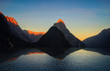 Leinwanddruck Bild - Milford Sound New Zealand