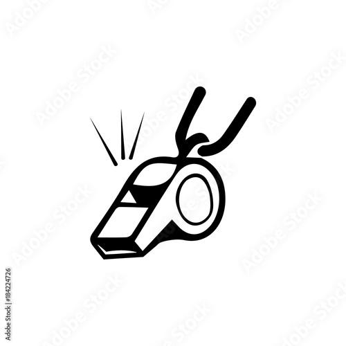 Valokuvatapetti whistle icon