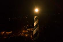 Aerial Night Image St Augustin...