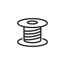 Spool Line Icon