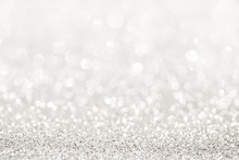 Silver Glitter Light