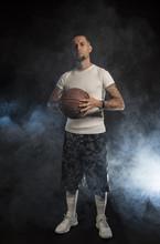 Studio Portrait Of Sportsmen U...