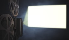 Vintage Movie Projector Is Pro...