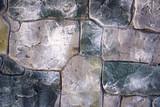 Close-up stonewall texture