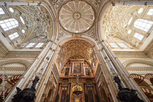 Fotografía  Mosque-cathedral, indoor view, Córdoba, Andalusia, Spain, Europe