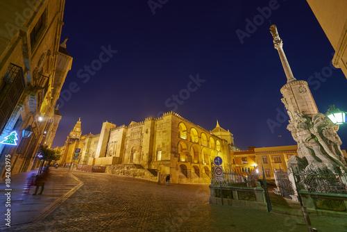 Mosque of Cordoba and Triumph of San Rafael, Córdoba, Andalusia, Spain, Europe