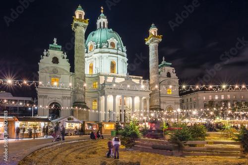 Karlskirche zu Weihnacht