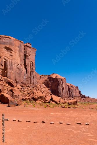 Staande foto Koraal Monument Valley