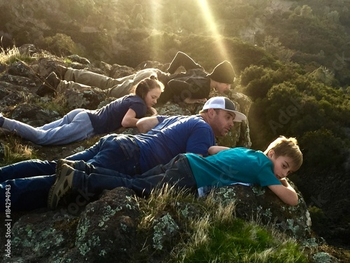 Foto op Aluminium Voetbal Table Mountain - What Do You See