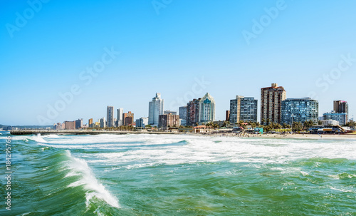 Garden Poster South Africa durban skyline waterside