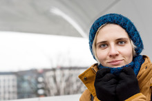Сlose-up Winter Portrait Of Y...