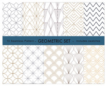 10 Geometric Pattern  Swatches...
