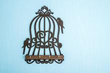 Wooden Key Hangers With Bird C...