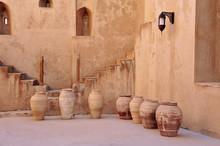 Inner Court Of Jabrin Castle W...
