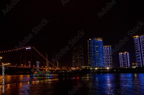 Deurstickers Rotterdam city