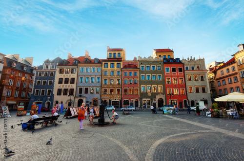 Fototapeta Warsaw Oldtown obraz