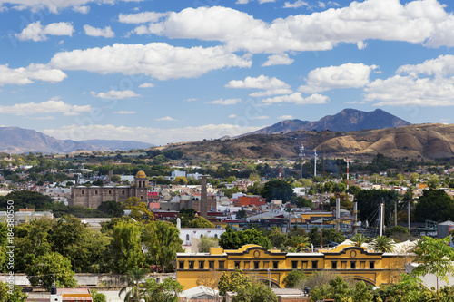 The historic town of Tequila, Mexico