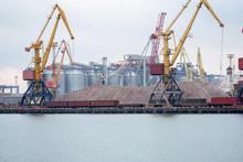 Port Terminal Of Bulk Cargo