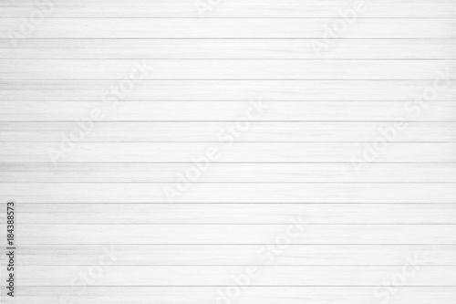 Foto-Tapete - White wood texture background. (von Sarote)