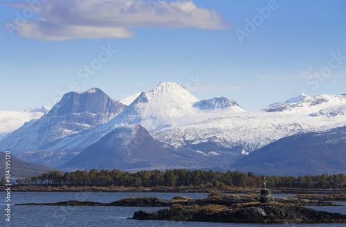 Poster Scandinavië Norwegen, Norway, Landschaft, Landscape