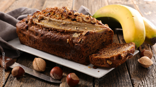 homemade banana bread Canvas Print