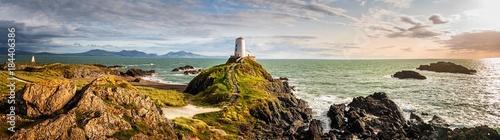 Fototapeta Ynys Llandwyn lighthouse Anglesey Wales