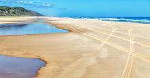 Near The Ocean  The Sand Trac...
