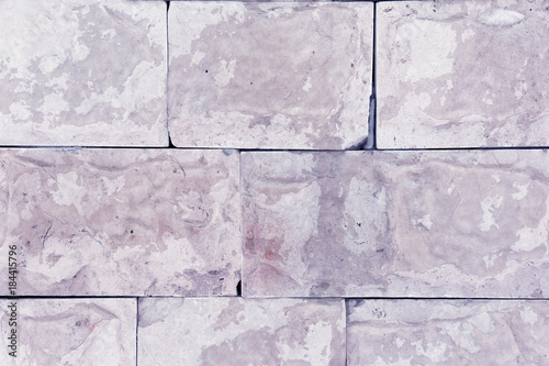 Fototapeten Künstlich Wall with panels of lilac marble. Beautiful background. Imitation of natural material.